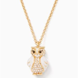 Kate Spade Star Bright Owl Mini Pendant Necklace